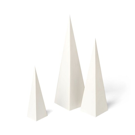 Pyramid 3 Piece Object Set by DwellStudio