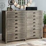 Dag 8 Drawer Double Dresser byTrent Austin Design