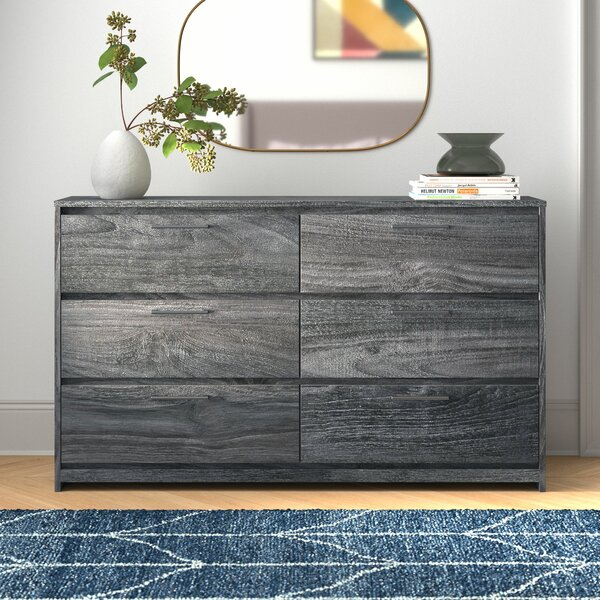 Isa 6 Drawer Double Dresser by Foundstone