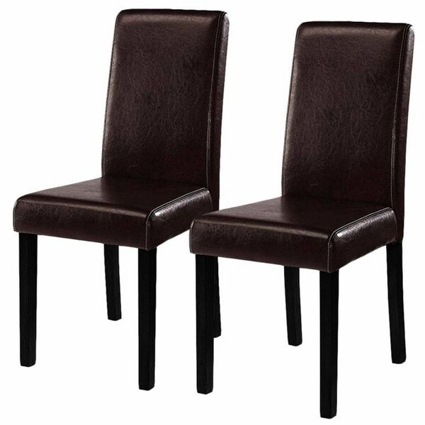 Joselyn Upholstered Dining Chair (Set of 2) by Charlton Home