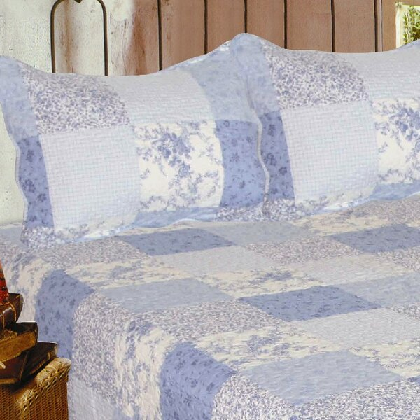Mary Quilt Cotton Throw by J&J Bedding