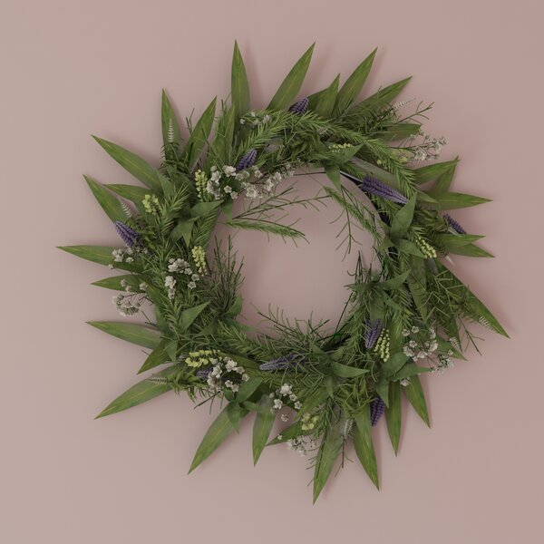 24 Silk Wreath by August Grove