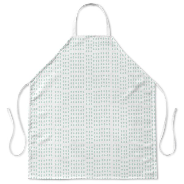 Raindrops and Teardrops Apron by Ivy Bronx
