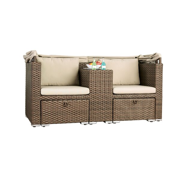 Barling Patio 3 Piece Sofa Seating Group with Cushions by Bay Isle Home
