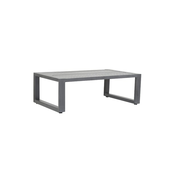 Redondo Aluminum Coffee Table by Sunset West