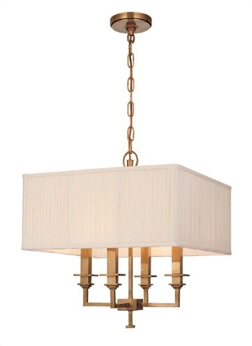 Eldorado 4-Light Unique / Statement Rectangle / Square Chandelier By Darby Home Co