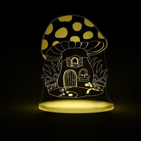 Toadstool LED Night Light by Total Dreamz