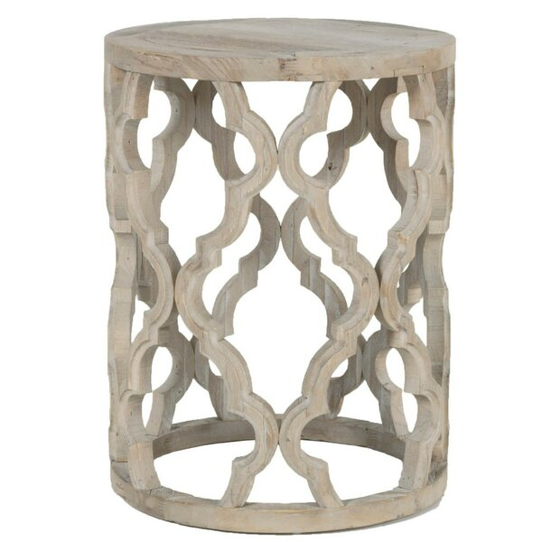 Rye Wooden End Table by Bungalow Rose