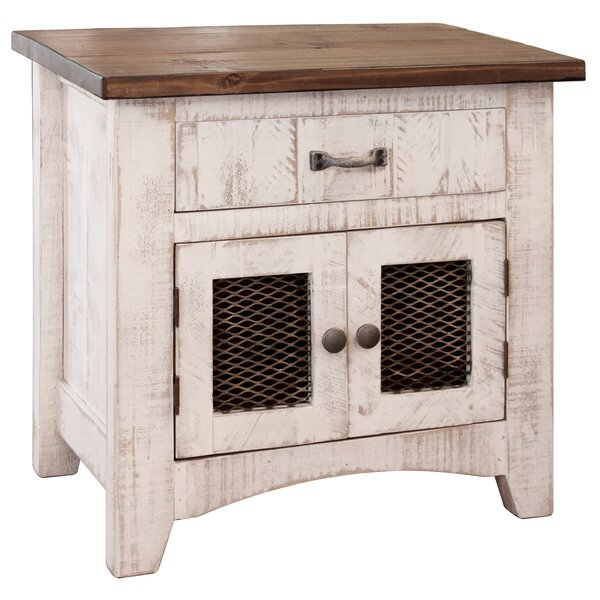 Coralie 1 Drawer Nightstand by Gracie Oaks