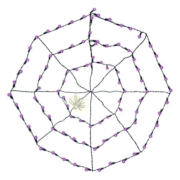 Halloween Spider Web 100 Light String Lighting by Amscan