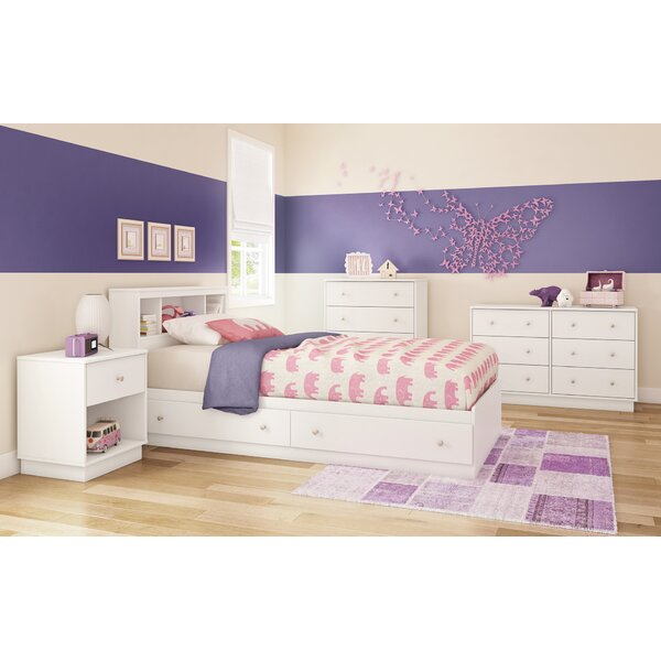 Cremont Bookcase Headboard Collection by Harriet Bee