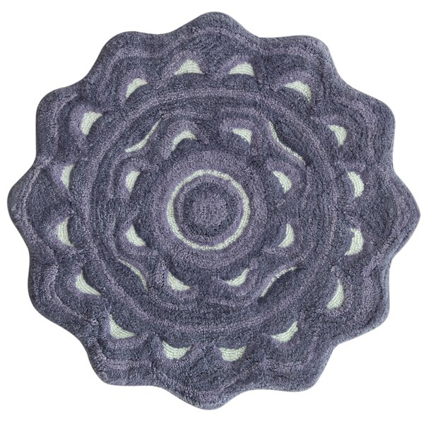 Medallion Dusk Purple Area Rug by Jessica Simpson Home