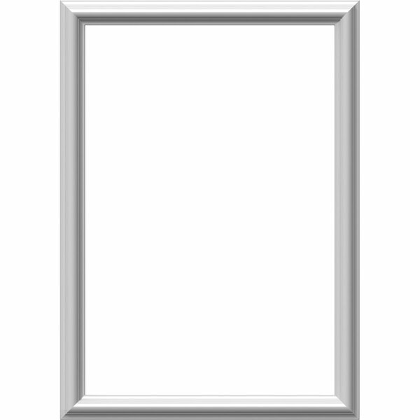 Ashford 28H x 20W x 1/2D Molded Classic Wainscot Wall Panel by Ekena Millwork
