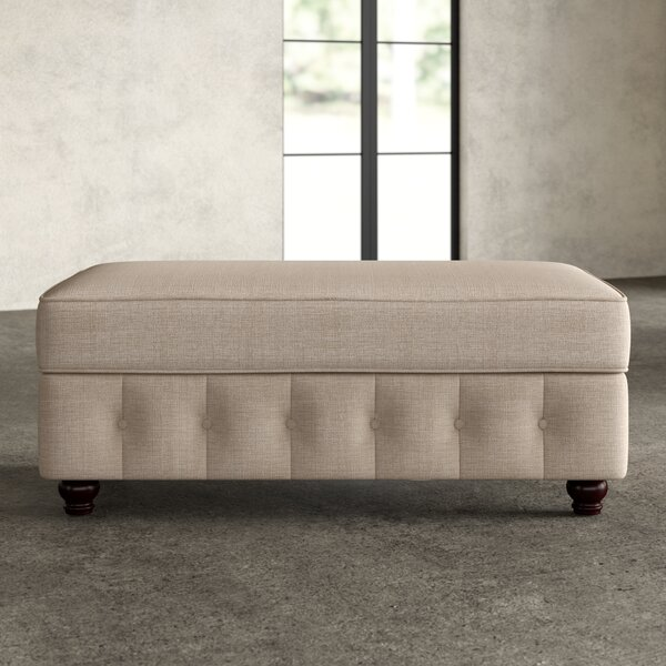 Quitaque Upholstered Storage Bench by Greyleigh