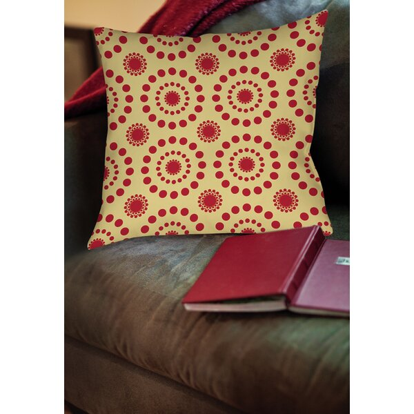 Tropical Breeze Patterns Printed Throw Pillow by Manual Woodworkers & Weavers