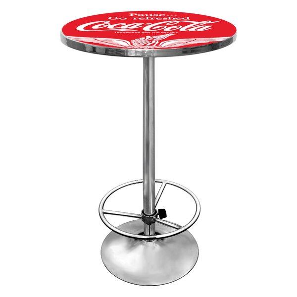 Coca Cola Pub Table III by Trademark Global