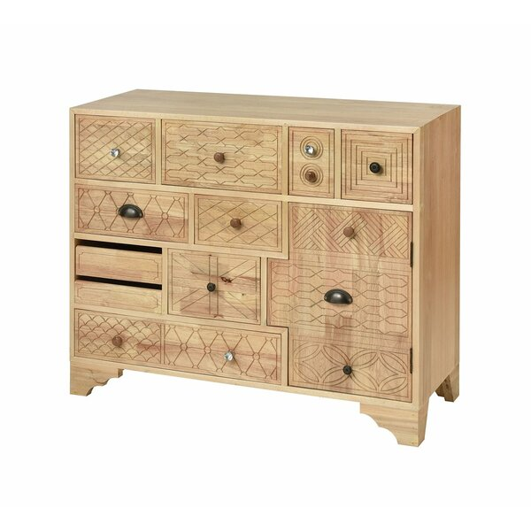 Pamuklu 10 Drawer Apothecary Accent Chest by Bloomsbury Market Bloomsbury Market