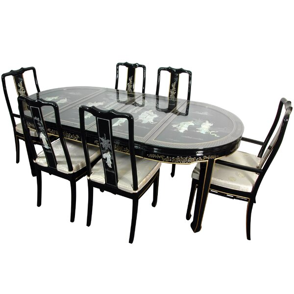 Conkle 7 Piece Dining Set by Bloomsbury Market