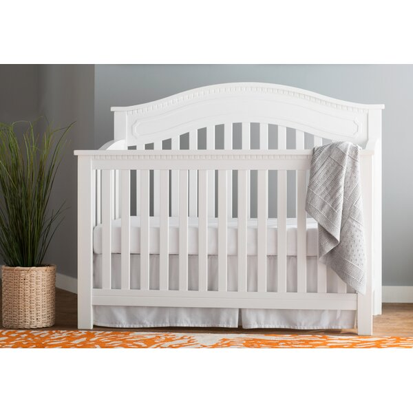 Lares 4-in-1 Convertible Crib by Mistana