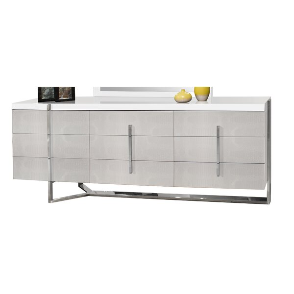 Ashmore 9 Drawer Dresser by Orren Ellis