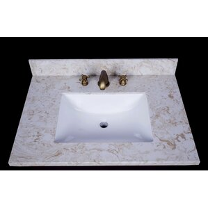 sink on top of vanity. Cortona 31  Single Bathroom Vanity Top Tops You ll Love Wayfair