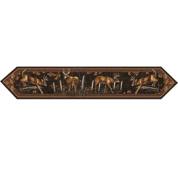 Deer Table Runner by River's Edge Products