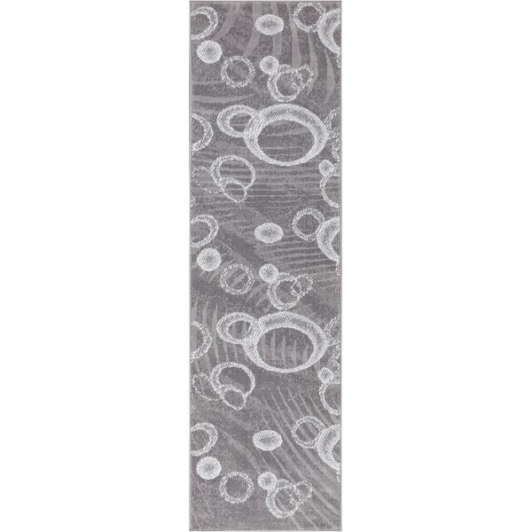 Ruark Gray Area Rug by Wrought Studio