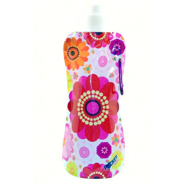 Catalan Flowers 16 oz. Pocket Water Bottle by Fleur De Lis Living
