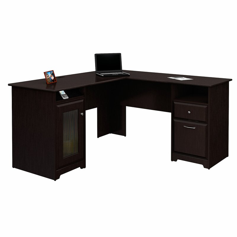 Potluri L Shaped Executive Desk