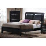 Leblanc UpholsteredPanel Bed byBrayden Studio