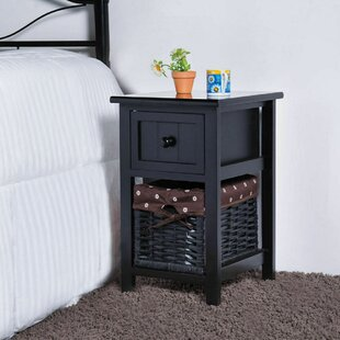 Aquin End Table with Storage