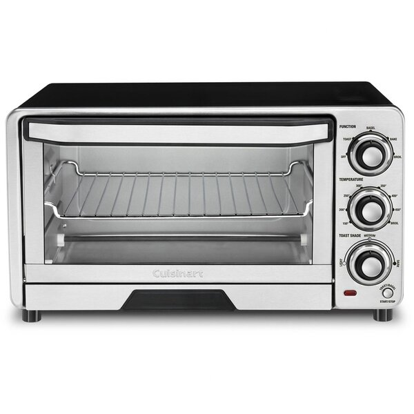 0.5 Cu. Ft. Toaster Oven Broiler by Cuisinart