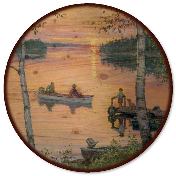 Lakeland Sunset Lazy Susan by WGI-GALLERY