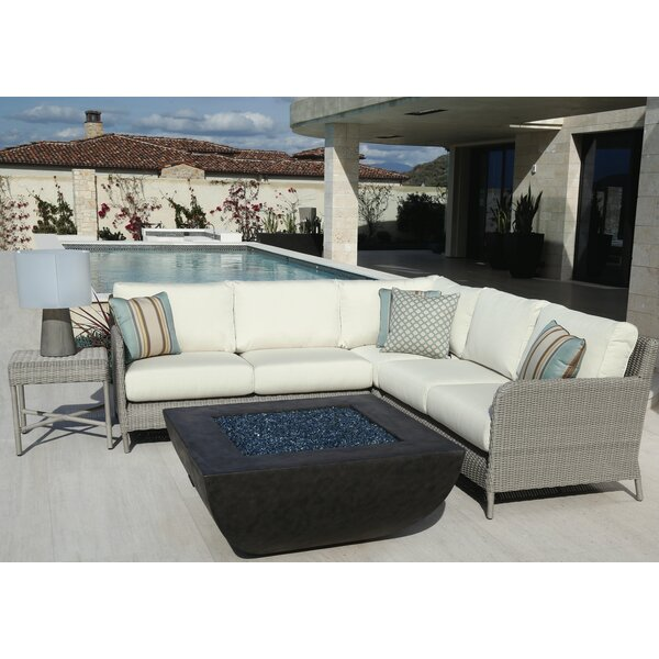 Manhattan Patio Sectional with Cushions by Sunset West