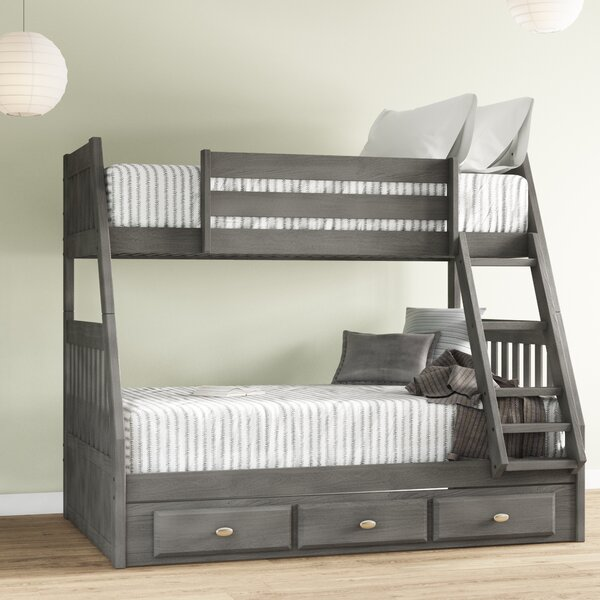 Giuliano Twin Over Full Bunk Bed With 3 Drawers By Birch Lane™ Heritage by Birch Lane™ Heritage Design