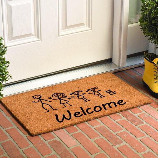 Kubiak Stick Family Doormat by Winston Porter