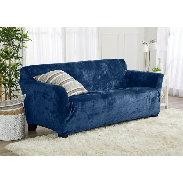 Fit T-Cushion Sofa Slipcover By Ebern Designs