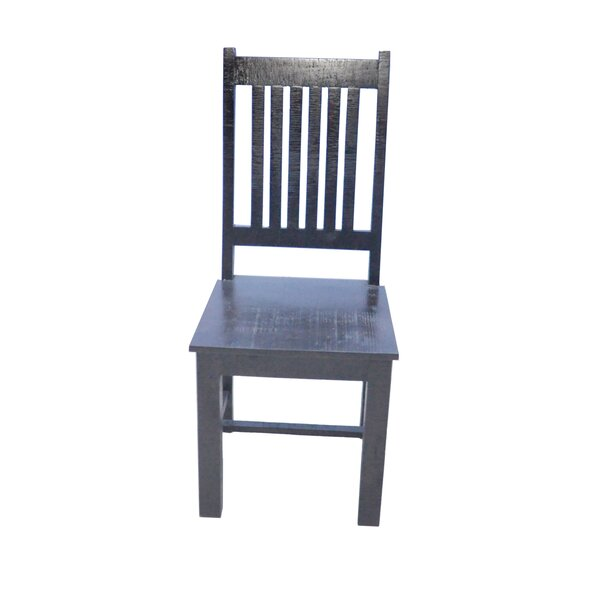 Solid Wood Dining Chair by World Menagerie