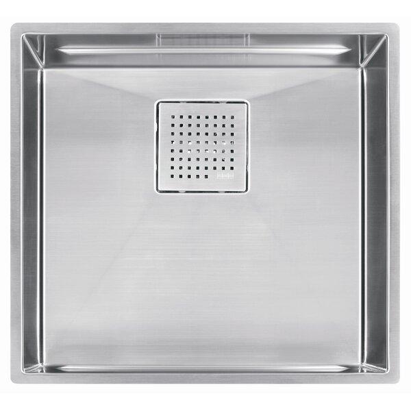 Peak 20 L x 18 W Undermount Kitchen Sink by Franke