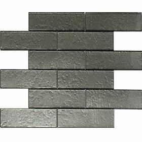Cartagena 2 x 6 Glass Field Tile Artic Gray by Vetromani