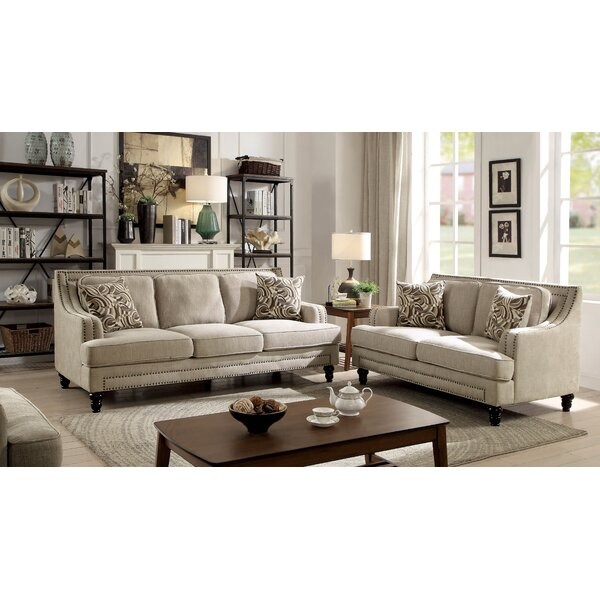 Pinnix Configurable Living Room Set by Bloomsbury Market