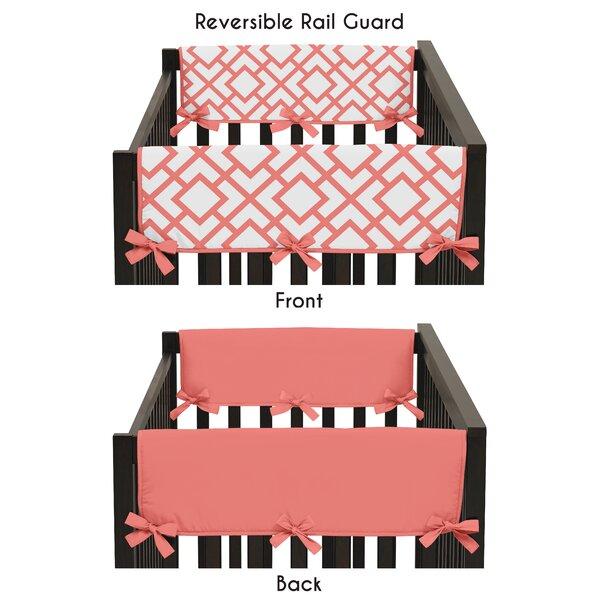 Mod Diamond Crib Rail Guard Cover (Set of 2) by Sweet Jojo Designs