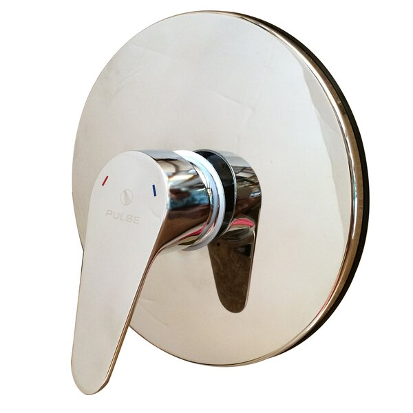 Pulse Showerspas Tru-Temp 7-1/4 Pressure Balanced Valve Trim Only - Rough In Included by Pulse Showerspas