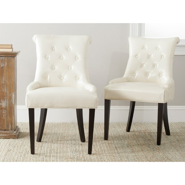 Modern Allensby Upholstered Dining Chair (Set Of 2) By Darby Home Co Great Reviews