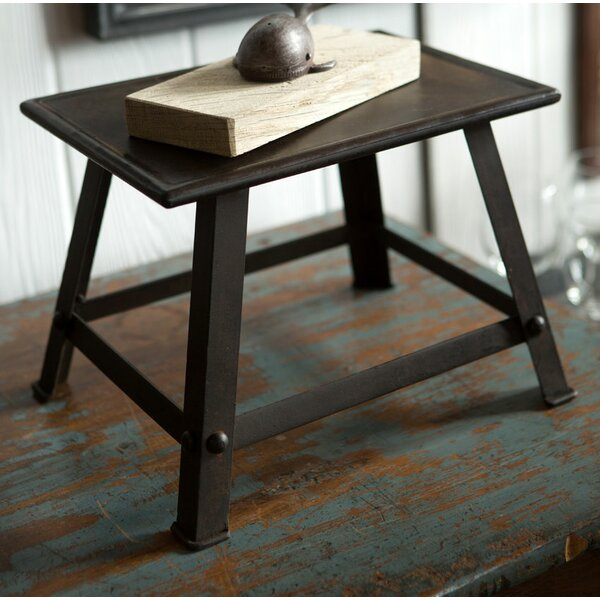 Swainsboro Handmade Iron Accent Stool by Charlton Home