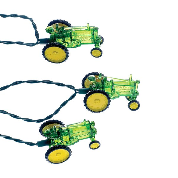John Deere Tractor String Lights by Kurt Adler