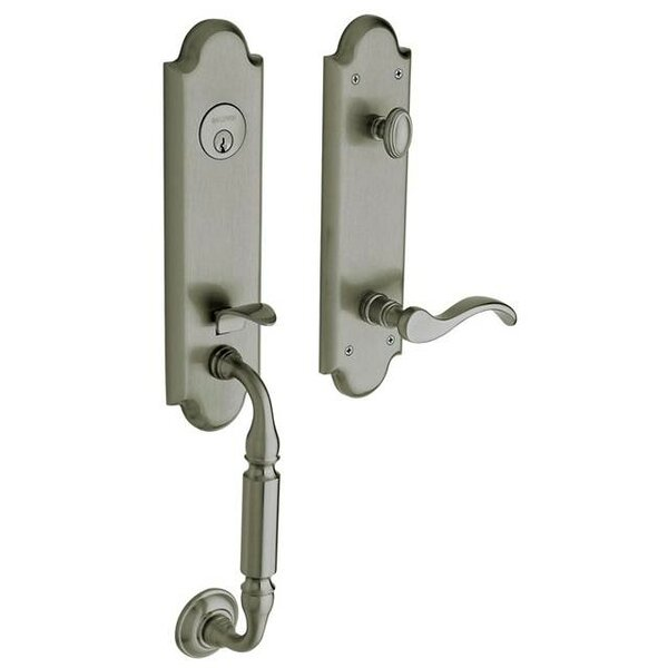 Manchester Single Cylinder Handleset with Interior Lever and Emergency Egress by Baldwin
