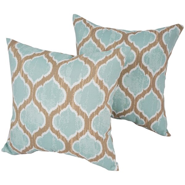 Designer Outdoor Throw Pillow (Set of 2) by Blazing Needles| @ $40.99
