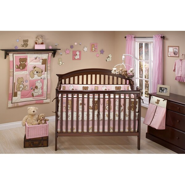 Dream Land Teddy 10 Piece Crib Bedding Set by NoJo