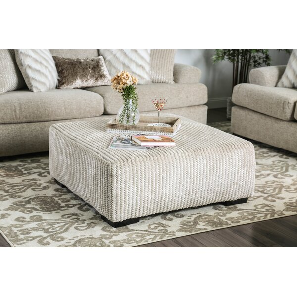 Dostie Ottoman by Darby Home Co